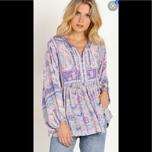 Spell And The Gypsy Poinciana Blouse